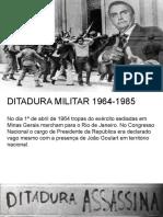 Ditadura Militar e República Nova
