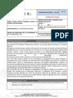 Pausa Activa Informe - 30 Octubre 2019