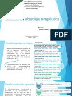 Modelos de Abordaje Terapéutico Pttx