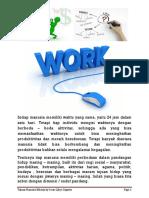 Manfaat Bekerja