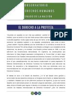 Informe Protesta Social Observatorio Ddhh