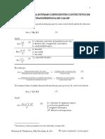 Relaciones Empíricas Para Estimar Coeficiente de Pelicula