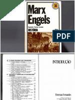 FERNANDES, Florestan. Marx e Engels
