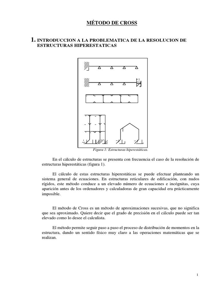 Metodo De Cross Ingeniería Mecánica Física Y Matemáticas