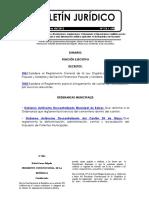 Reglamento General de La Ley Organica de La Economia Popular y Solidaria y Del Sector Financiero Popular y Solidario