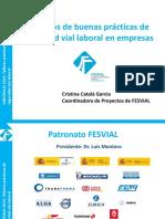 Ejemplos de Buenas Prácticas de Seguridad Vial Laboral en Empresas - Cristina Catalá