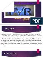 Case Study on Pvr Cinemas