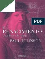 LIBRO - El Renacimiento, Una Breve Historia