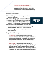 Electricity Fundamentals