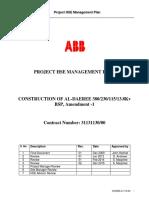 DAEREE HSE Management Plan Doc