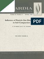 Compaction of Soils