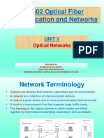 Unit 5 Optical Networks Ppt