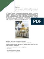Definición de Poder Legislativo