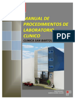 MANUAL DE PROCEDIMIENTOS DE INSANOR SAC