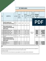 ACCC Helsinki Conductor-Bill of Quantities