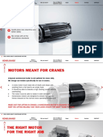 Core of Lifting Motors