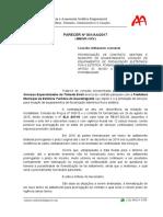 Parecer AA17-001