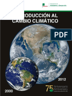 Publication Introduction Climate Change Zamorano Spanish
