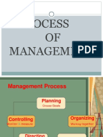 Process of Management
