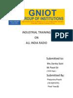 Industrial Training111