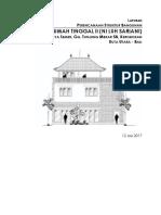 Laporan Perencanaan Struktur Rumah Tinggal II