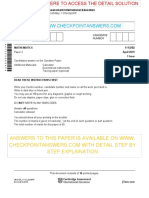 Mathematics April Paper 2 2019 Question Paper