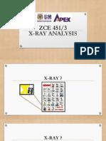 XRay Analysis Introduction