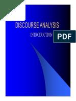 Analiza Discurusului