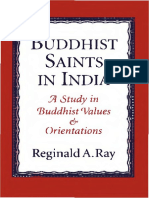 Buddhist Saints in India.a Study in Buddhist Values & Orientations.reginald a. Ray.1994