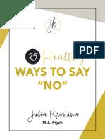 25 Healthy Ways 1