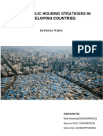 ..Urban Public Housing Strategies in Developing Countries
