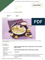 Petite Compote Exotique Aux Biscuits _ Blog _La Cuisine de Bébé_ _ Mettez Les Petits Pots Dans Les Grands Avec Babymoov !