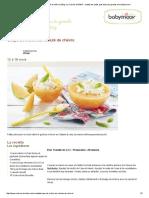 Soupe de Melon Au Velouté de Chèvre _ Blog _La Cuisine de Bébé_ _ Mettez Les Petits Pots Dans Les Grands Avec Babymoov !