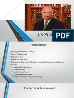 CK Prahalad PPT