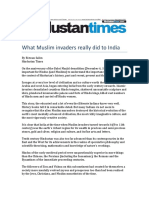 What Muslim Invaders Really Did to India by Rizwan Salim