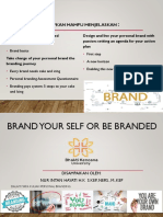 Brand Your Self or Be Branded Intan
