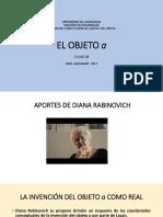 2017 El Objeto a Clase III