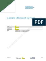 Carrier Ethernet Service CES Description de La Performancev3 2fr