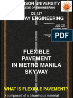 Flexible Pavement in Metro Manila Skyway