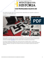 Aventuras Na História · Juiz Libera o Uso de Propaganda Nazista Em Santa Catarina