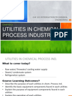 Chap 3 - Utilities in Chem Process Ind