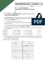 module on rectangular coordinate system