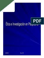 Etica Nvestigacio en Psiquiatria