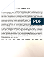 New Legal Problem