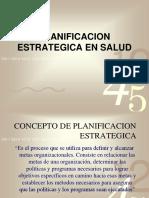 Planificación Estratégica en Salud