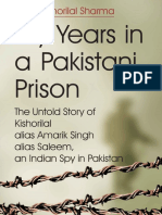 My Years in a Pakistani Prison_ the Untold Story of Kishorilal Alias Amarik Singh Alias Saleem, An Indian Spy in Pakistan ( PDFDrive.com )