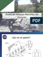 Tdm - Defensas Ribereñas Con Gaviones