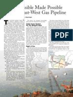 Reliance East West Pipeline Punj Loyd