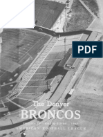 1961 Broncos