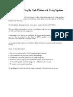 Digital Force Bag - Additional Notes